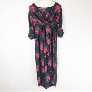 Torrid floral high low dress size 0